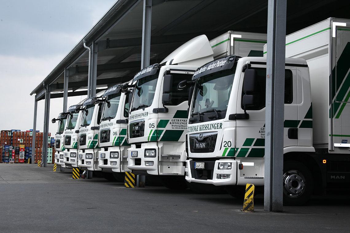 Logistik | Getränke Kiesslinger
